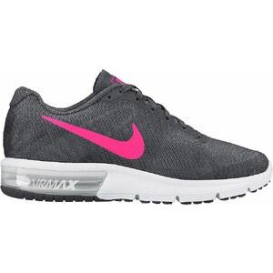 Große Größen: Nike Laufschuh »Air Max Sequence Wmns«, anthrazit-neonpink, Gr.40-40