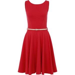 Closet London Ausgestelltes Kleid mit Gürtel
