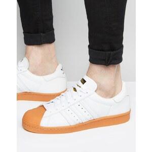 Adidas Originals - Superstar 80's S75830 - Baskets - Blanc - Blanc
