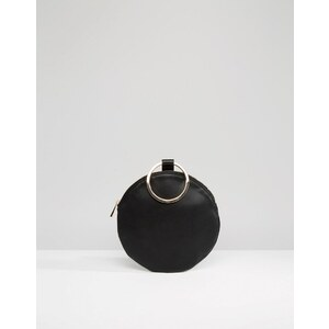 ASOS - Pochette motif circulaire - Noir