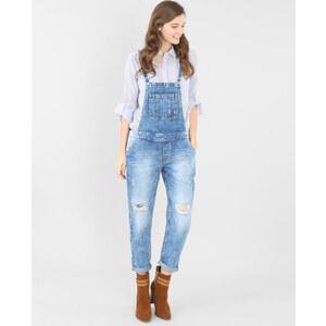 Salopette en jean Femme - Couleur bleu denim - Taille 42 -PIMKIE- LA MODE FEMME
