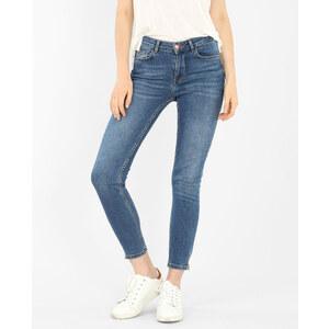 Jean slim zippé bleu denim, Femme, Taille 36 -PIMKIE- MODE FEMME