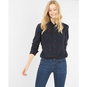 Chemise à carreaux bleu marine, Femme, Taille L -PIMKIE- MODE FEMME