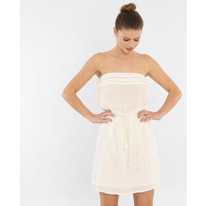 Robe courte bustier blanc cassé, Femme, Taille L -PIMKIE- MODE FEMME