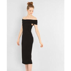 Robe longue col bardot noir, Femme, Taille M -PIMKIE- MODE FEMME