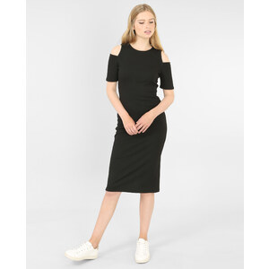 Robe manches peekaboo noir, Femme, Taille L -PIMKIE- MODE FEMME