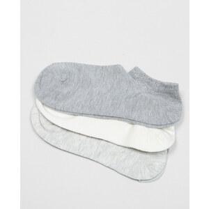 Socquettes lurex blanc cassé, Femme, Taille 00 -PIMKIE- MODE FEMME