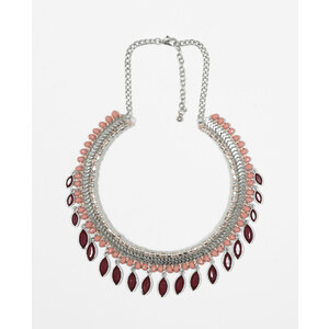 Collier pampilles rouge, Femme, Taille 00 -PIMKIE- MODE FEMME