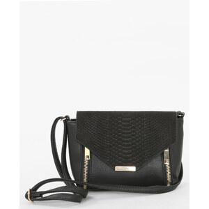 Petit sac boxy effet croco noir, Femme, Taille 00 -PIMKIE- MODE FEMME