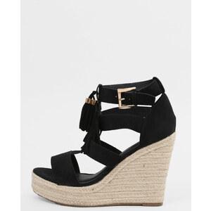 Sandales compensées noir, Femme, Taille 38 -PIMKIE- MODE FEMME