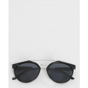 Lunettes de soleil avec barre supérieure noir, Femme, Taille 00 -PIMKIE- MODE FEMME