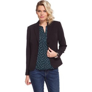 Blazer 2 boutons poches rabat Noir Polyester - Femme Taille 1 - Cache Cache