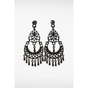 Boucles d'oreilles femme métal pampilles Métal Metal - Femme Taille TU - Bonobo