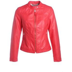 Blouson simili avec zip devant Rouge Synthetique (polyurethane) - Femme Taille 1 - Cache Cache