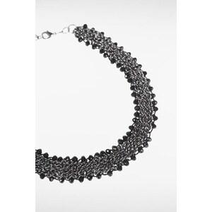 Collier femme plastron chaînes pierres Métal Coton - Femme Taille TU - Bonobo