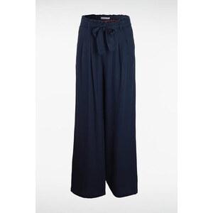 Pantalon femme fluide uni Instinct Bleu Tencel - Femme Taille 34 - Bonobo