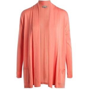 Gilet col châle manches longues Rose Coton - Femme Taille 0 - Cache Cache