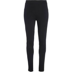 Legging bi matière Noir Elasthanne - Femme Taille 46 - Bréal