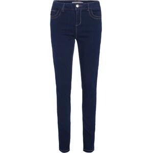 Jean skinny poche ticket zippée Bleu Polyester - Femme Taille 34 - Cache Cache