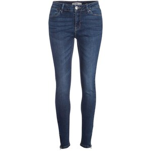 Jean skinny used Bleu Viscose - Femme Taille 34 - Cache Cache