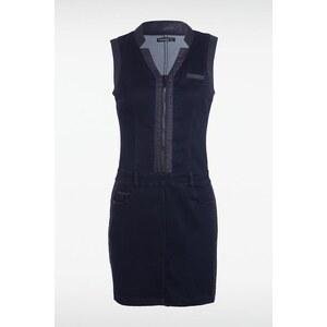 Robe femme zippée devant Bleu Polyester - Femme Taille M - Bonobo