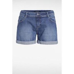 Short femme denim revers Bleu Coton - Femme Taille 34 - Bonobo