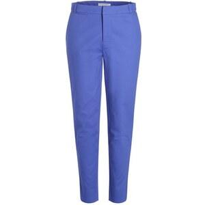 Pantalon city taille haute uni Bleu Coton - Femme Taille 36 - Cache Cache
