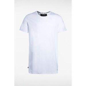 T-shirt homme manches courtes basic Blanc Coton - Homme Taille L - Bonobo