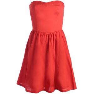 Robe bustier décolleté coeur Rouge Polyester - Femme Taille 34 - Cache Cache