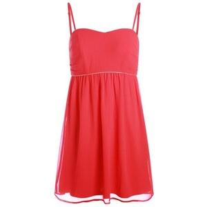 Robe bustier détail contrasté Rouge Acetate - Femme Taille 36 - Cache Cache