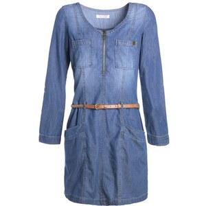 Robe en jean used Bleu Coton - Femme Taille 36 - Cache Cache