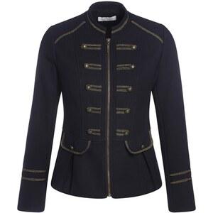 Veste officier liserés dorés Bleu Coton - Femme Taille 1 - Cache Cache
