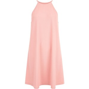 New Look Hochgeschlossenes, ausgestelltes Kleid in Mittelrosa