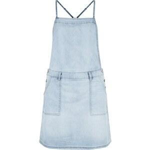 New Look Hellblaues Jeans-latzkleid