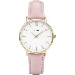Montre Cluse Minuit - Gold White/Pink