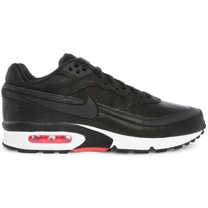 NIKE Air Max BW Premium Leather in Schwarz