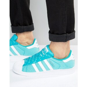 adidas Originals - Superstar S75661 - Baskets d'été - Bleu