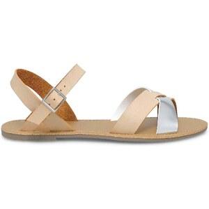 Eram sandales plates croisées