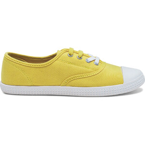 Eram tennis toile jaune