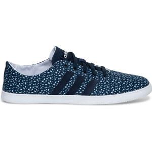 Tennis Adidas toile imprimée bleue