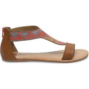 Eram sandales plates ethniques