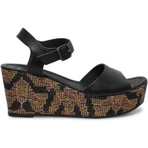 Eram sandales compensées noires
