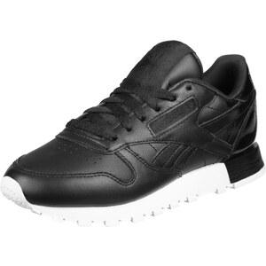 Reebok Cl Leather Mattte Shine W chaussures black/white