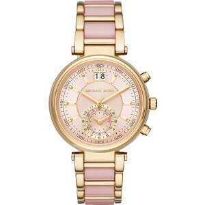 Michael Kors Montres, Ladies Sawyer Watch Gold Rose en or, rose pâle