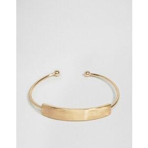 ASOS - Bracelet à barres - Doré
