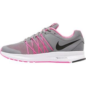 Nike Performance AIR RELENTLESS 6 Laufschuh Neutral cool grey/black/pink