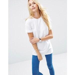 ASOS - The Ultimate Easy - T-shirt long - Blanc