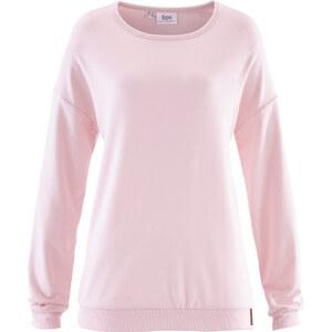 bpc bonprix collection Sweat-shirt rose manches longues femme - bonprix