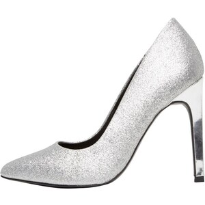 Only Damen Petra Glitter Pumps Silver