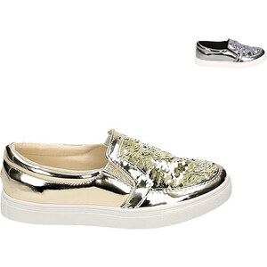 Lesara Baskets slip-on avec sequins